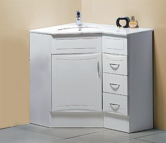 900x600mm Corner Vanity Left Side Bathroom Products